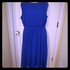 CATO Royal Blue Size 18/20W Maxi Dress